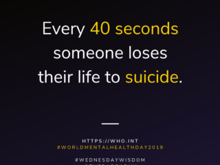 World Mental Health Day suicide 40seconds