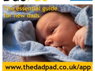 Advert for Surrey Heartlands DadPad launch